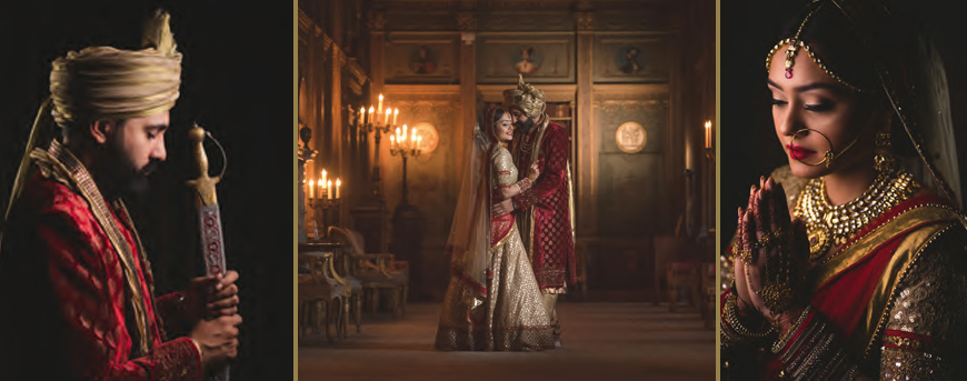 A Maharaja Themed Wedding